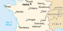 Nantes Cartina Francia.Francia Viaggiatori Net