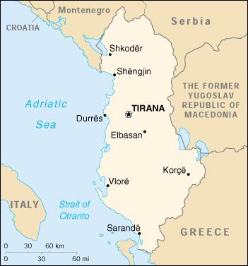Cartina Di Albania.Mappa Albania Cartina Geografica E Risorse Utili Viaggiatori Net