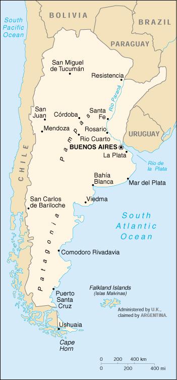 Patagonia Cartina Geografica.Mappa Argentina Cartina Geografica E Risorse Utili Viaggiatori Net