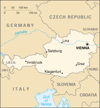 Cartina Austria Stradale.Mappa Austria Cartina Geografica E Risorse Utili Viaggiatori Net