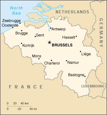 Cartina Del Belgio Da Stampare.Mappa Belgio Cartina Geografica E Risorse Utili Viaggiatori Net