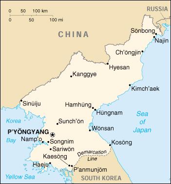 Cartina Mondo Corea.Mappa Corea Del Nord Cartina Geografica E Risorse Utili Viaggiatori Net