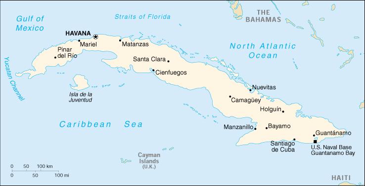 Cartina Geografica Haiti.Mappa Cuba Cartina Geografica E Risorse Utili Viaggiatori Net