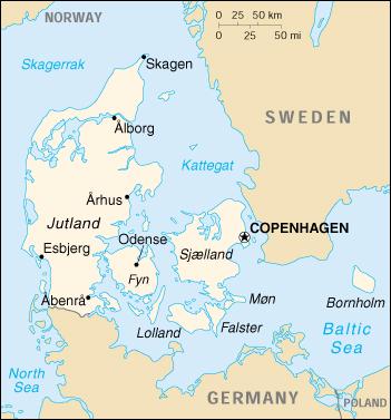 Cartina Della Danimarca.Mappa Danimarca Cartina Geografica E Risorse Utili