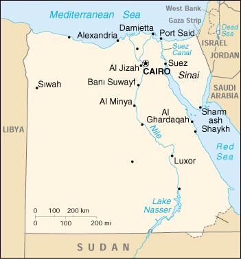 Cartina Del Egitto.Mappa Egitto Cartina Geografica E Risorse Utili Viaggiatori Net