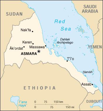 Cartina Eritrea.Mappa Eritrea Cartina Geografica E Risorse Utili Viaggiatori Net