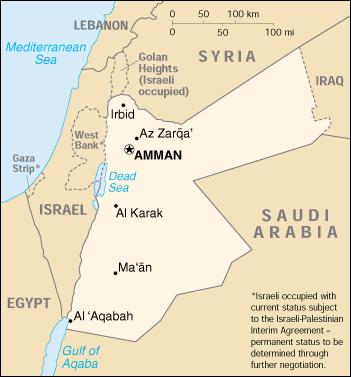 Cartina Giordania E Israele.Mappa Giordania Cartina Geografica E Risorse Utili Viaggiatori Net