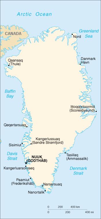 Cartina Geografica Della Groenlandia.Mappa Groenlandia Cartina Geografica E Risorse Utili Viaggiatori Net