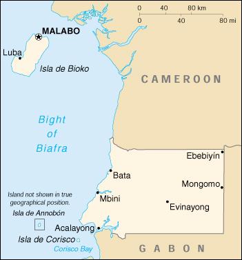Guinea Cartina Geografica.Mappa Guinea Equatoriale Cartina Geografica E Risorse Utili Viaggiatori Net