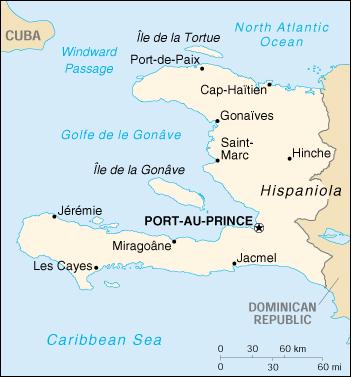 Cartina Geografica Haiti.Mappa Haiti Cartina Geografica E Risorse Utili Viaggiatori Net