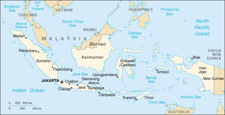 Cartina Dell Indonesia.Mappa Indonesia Cartina Geografica E Risorse Utili Viaggiatori Net