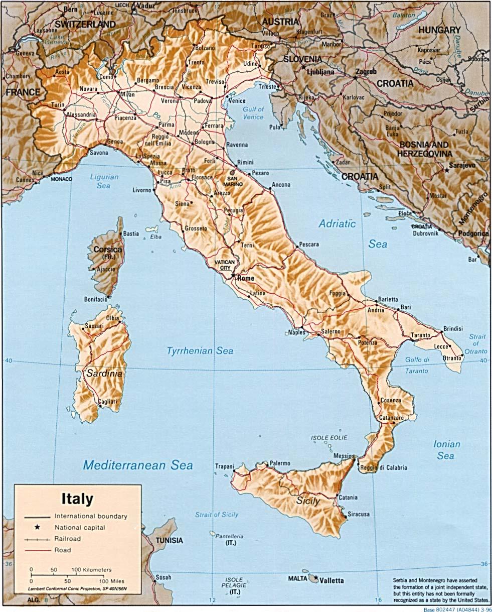 Brindisi Cartina Geografica.Mappa Italia Cartina Geografica E Risorse Utili Viaggiatori Net