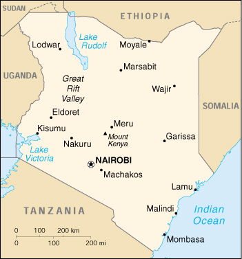 Malindi Cartina Geografica.Mappa Kenya Cartina Geografica E Risorse Utili Viaggiatori Net