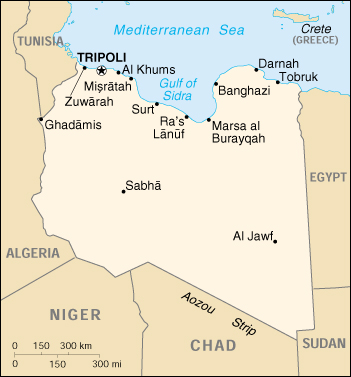 Libia Italia Cartina.Mappa Libia Cartina Geografica E Risorse Utili Viaggiatori Net