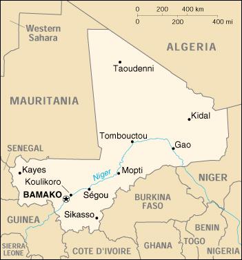 Mappa Mali - cartina geografica e risorse utili - Viaggiatori.net