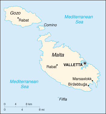 Malta Cartina Stradale.Mappa Malta Cartina Geografica E Risorse Utili Viaggiatori Net