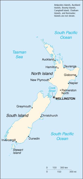 Cartina Geografica Australia E Nuova Zelanda.Mappa Nuova Zelanda Cartina Geografica E Risorse Utili