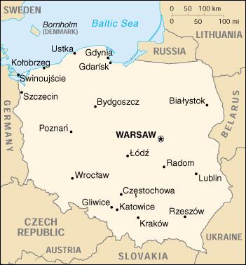 Cartina Muta Polonia.Mappa Polonia Cartina Geografica E Risorse Utili Viaggiatori Net