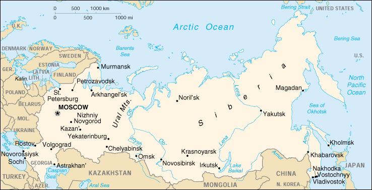 Cartina Politica Russia In Italiano.Mappa Russia Cartina Geografica E Risorse Utili Viaggiatori Net