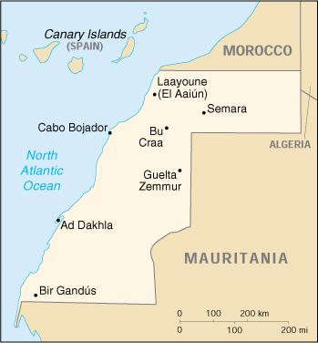 Marocco Cartina Stradale.Jambo Africa Marocco Stati Uniti Rappresentanza Diplomatica Usa Nel Sahara Occidentale A Dakhla