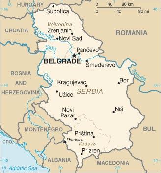 Cartina Geografica Ex Jugoslavia.Mappa Serbia Cartina Geografica E Risorse Utili