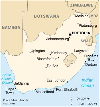 Sud Africa Cartina Politica.Mappa Sud Africa Cartina Geografica E Risorse Utili