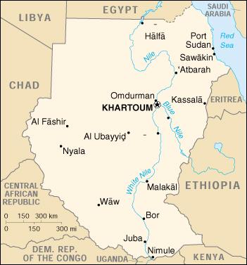 """Risultato immagini per Sudan Mappa"""""""