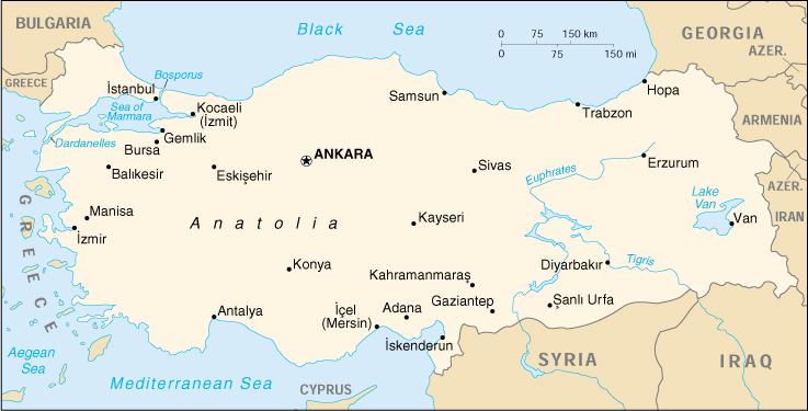 Cartina Mondo Turchia.Mappa Turchia Cartina Geografica E Risorse Utili Viaggiatori Net