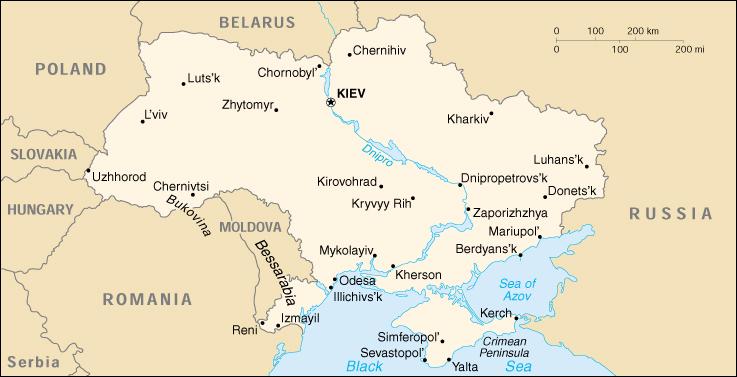 Cartina Geografica Satellitare.Mappa Ucraina Cartina Geografica E Risorse Utili Viaggiatori Net