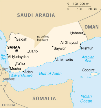 Cartina Yemen.Mappa Yemen Cartina Geografica E Risorse Utili Viaggiatori Net