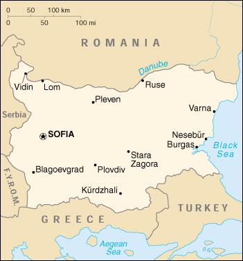 Mappa Bulgaria Cartina Geografica E Risorse Utili Viaggiatori Net
