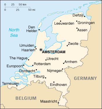 Olanda Cartina Geografica